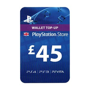Playstation Network PSN UK 45£